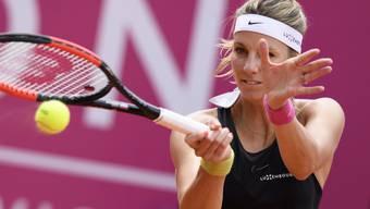 Die Luxemburgerin Mandy Minella, Finalistin in Gstaad, sorgte mit einem Sieg im entscheidenden Doppel für die Entscheidung in der Interclub-Meisterschaft