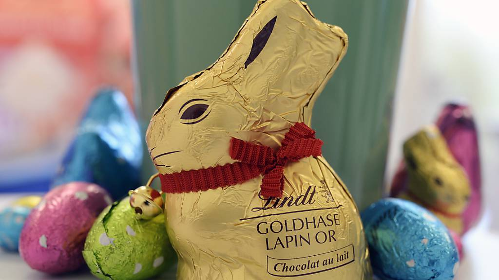 Der legendäre Schokoladenhase von Lindt & Sprüngli kann seine goldene Verpackung nicht alleine für sich beanspruchen.
