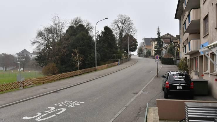 Der Hausmattrain in Olten war früher als «Stadrain» bekannt – bis 1825 ist der alte Name schriftlich belegt, 1911 wurde die Strasse amtlich umbenannt.