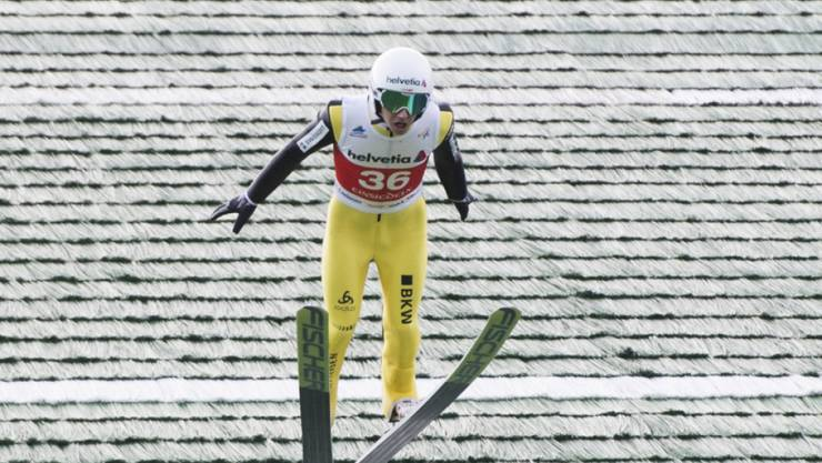 Simon Ammann verpasst in Hakuba knapp die Top Ten