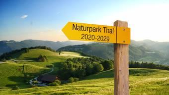 Auf weitere zehn Jahre Naturpark Thal.