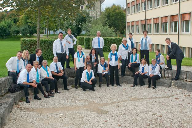 Projektchor Seetal am Kantonalgesangfest 2014 in Frick