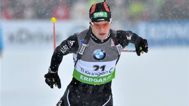 Mario Dolder ist für das Einzelrennen über 20 km gesetzt. key
