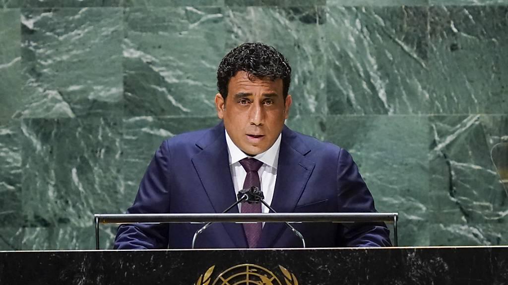 Al-Menfi bei UN-Vollversammlung: Libyen an «entscheidender Kreuzung»