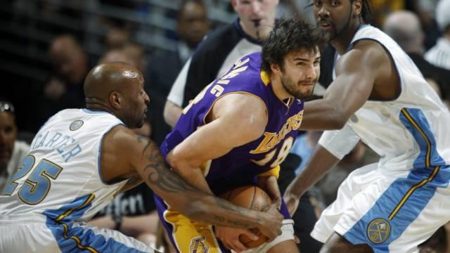Die Los Angeles Lakers kamen erneut in Bedrängnis