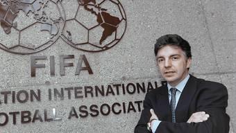 Stellt sich womöglich zur Wahl als FIFA-Präsident: Michel Zen-Ruffinen (Archivbild)
