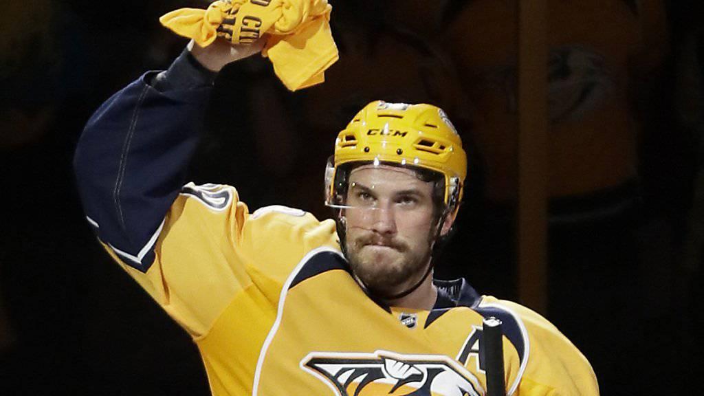 Roman Josi wird die Nashville Predators in der nächsten NHL-Saison als Captain anführen