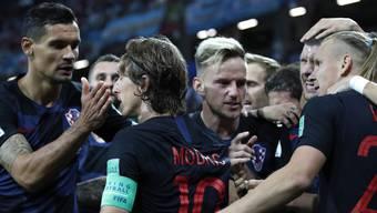 Impressionen zum Gruppenspiel Argentinien - Kroatien