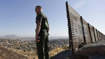 Die US-Grenze zu Mexiko. (Archiv)