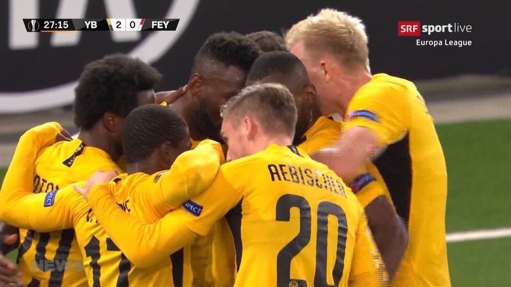 YB triumphiert über Feyenoord Rotterdam