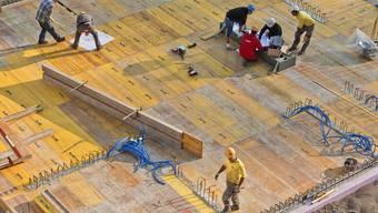Blick auf eine Baustelle (Symbolbild)