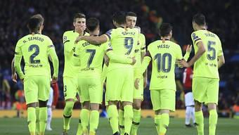Der FC Barcelona erspielt sich im Old Trafford eine günstige Ausgangslage