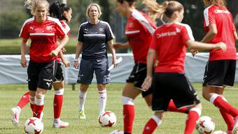 Findet Nationaltrainerin Martina Voss-Tecklenburg erneut die richtigen Worte?