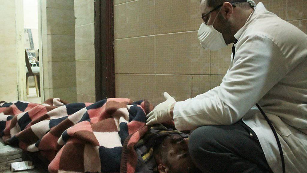 Im syrischen Bürgerkrieg werden Ärzte und Gesundheitspersonal systematisch angegriffen. (Archivbild)