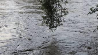 Eine Frau und ein Mann verloren den Halt unter den Füssen und fielen ins Wasser. (Symbolbild)