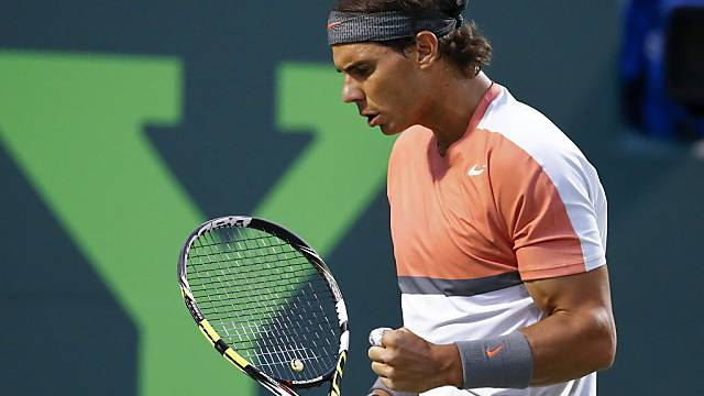Rafael Nadal strebt seinen ersten Titel in Miami an
