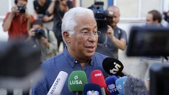 Wahlsieger mit seinen Sozialisten: Der alte und wohl auch neue Ministerpräsident António Costa in Lissabon.
