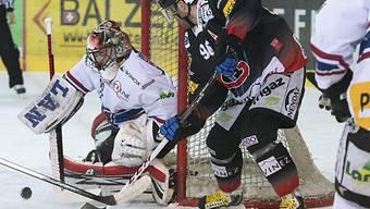 Starke Partie von Biel-Goalie Simon Rytz.