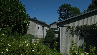 In der Asylunterkunft Lanzrain befinden sich alle Bewohner in Quarantäne. (Archivbild von der Asylunterkunft Lanzrain)