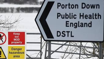 In Porton Down steht das militärische Labor des britischen Verteidigungsministeriums. Dieses konnte die Quelle des Nervengifts, das beim Anschlag in Salisbury eingesetzt worden war, nicht eruieren.