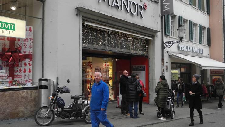 Manor wirbt mit 30 % Rabatt