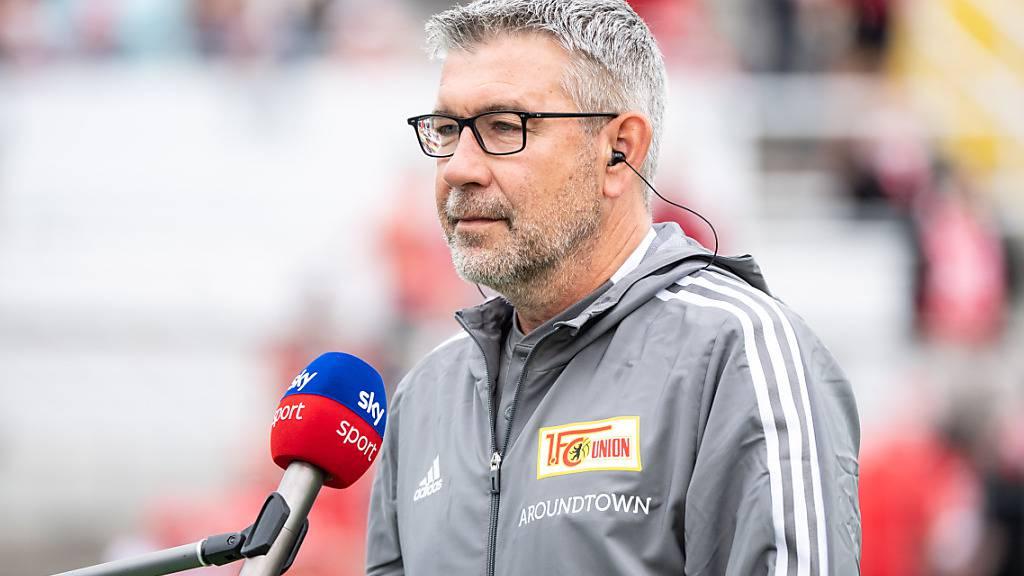 Auch Urs Fischer von Union Berlin kann mit den ersten Spielen der Saison 2021/22 zufrieden sein