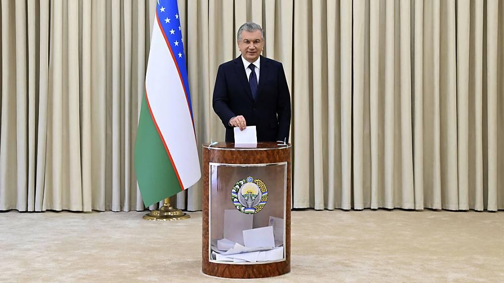 Präsident Mirsijojew nach Reformkurs im Amt bestätigt
