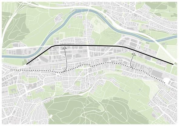 Die Bernstrasse wird zur Autoachse. Doch soll sie städtebauliche Qualität aufweisen