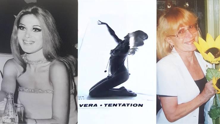 Brigitte Brigitte Honauer als junge Frau in den 60er-Jahren, auf einem Plakat und so, wie man sie als «Löwen»-Wirtin kannte.