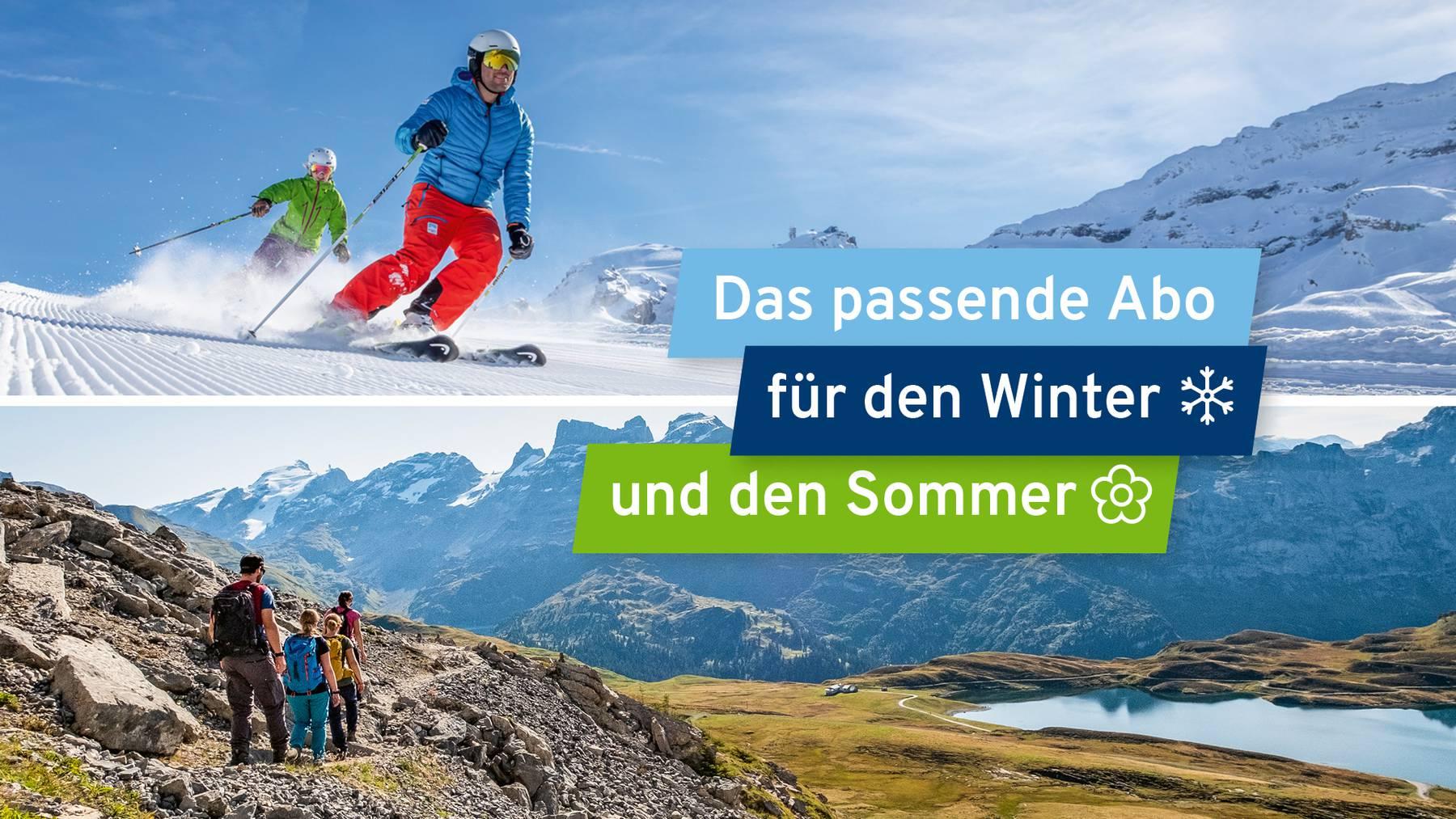 Schneepass Zentralschweiz neu mit Sommer-Angebot.