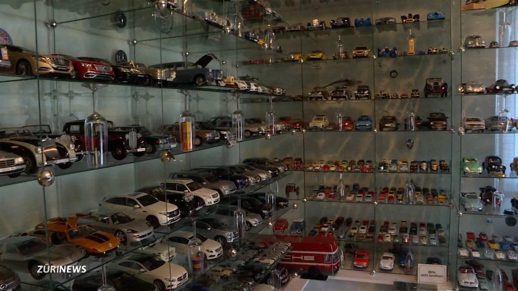 Modellauto-Himmel: Sammler Kurt Kraushaar zeigt seine grössten Schätze