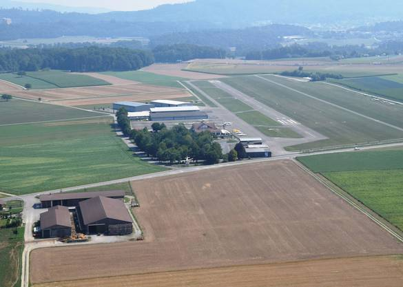Der Flugplatz Birrfeld hat sich zum bedeutenden Flugsport- und Ausbildungszentrum entwickelt