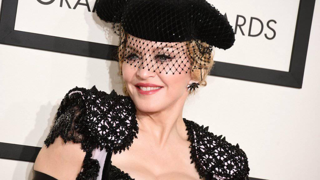 Madonna ganz nostalgisch: Offenbar soll die Queen of Pop noch immer an ihrem Ex-Mann Sean Penn hängen (Archiv)
