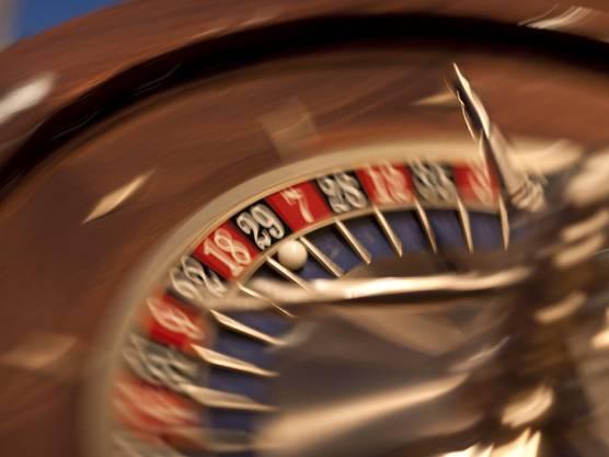 Roulette im Grand Casino Baden (Archiv)