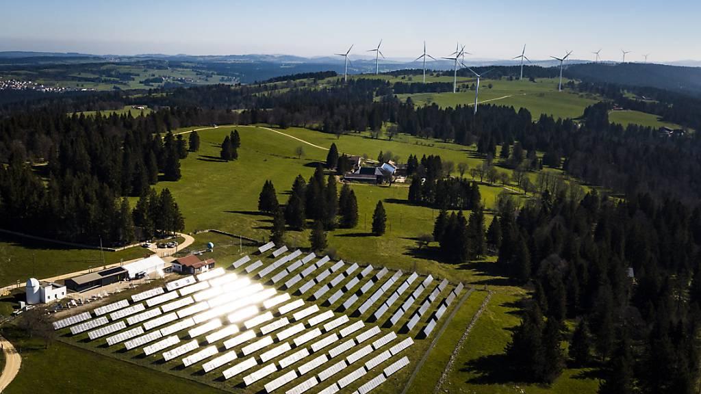 Umfrage: Schweizer Bevölkerung steht klar hinter Energiewende