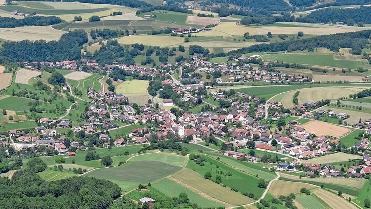 Arbeiten am Zusammenschluss: die Gemeinden Herznach und Ueken.