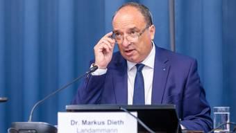 Aargauer Budget 2021 Pressekonferenz