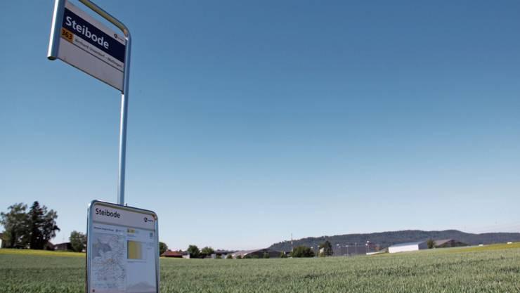 Am Standort Steibode beträgt das potenzielle Auffüllvolumen rund 3 Mio. Kubikmeter.