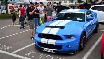Legendär: Ein wunderschöner Ford Mustang Shelby.