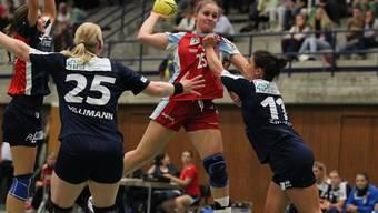Pascale Wyder und der TV Zofingen bestreiten am Samstag ihr letztes Spiel gegen Stans.