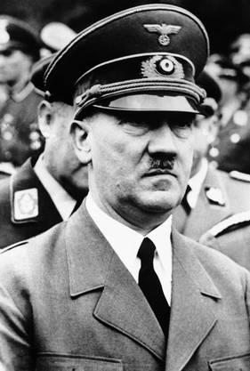 1933 an die Macht gekommen: Adolf Hitler.