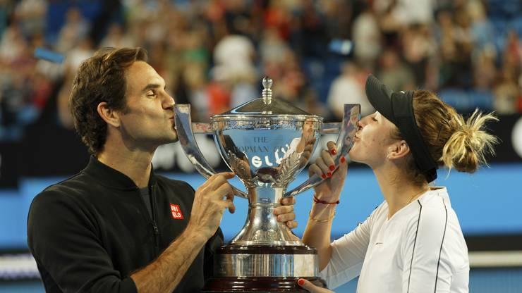 Eine weitere Rekordmarke: Federer ist der erste Spieler, der den Hopman Cup drei Mal gewonnen hat.