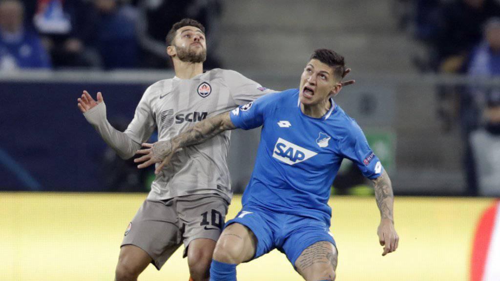 Steven Zuber spielt in der Rückrunde nicht mehr für Hoffenheim, sondern für den VfB Stuttgart