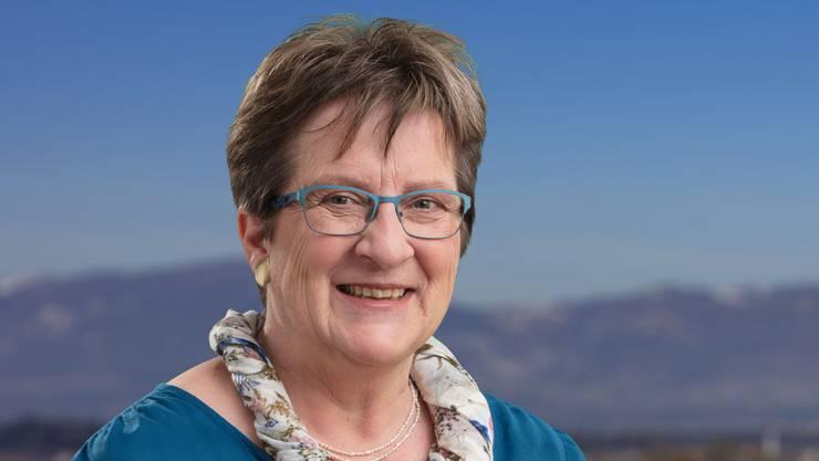 Marie-Theres Widmer ist CVP-Kantonsrätin und will in den Nationalrat.