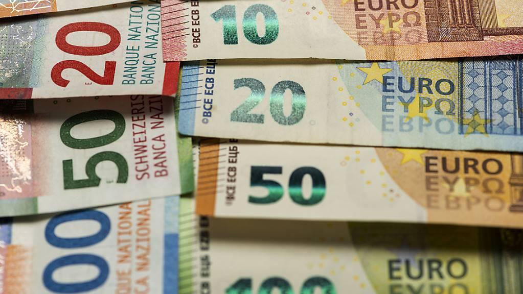 Die Ausgleichszahlungen für den Finanzausgleich werden 2022 gemäss den Berechnungen der Finanzverwaltung um 91 Millionen Franken steigen. (Symbolbild)