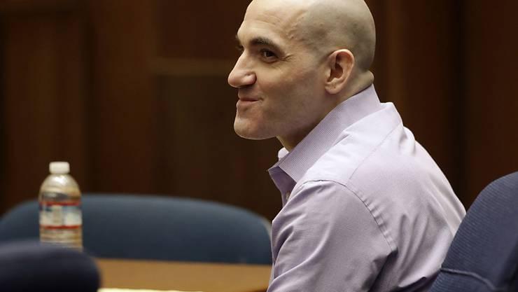 """Der als """"Hollywood Ripper"""" bekannte Mörder Michael Gargiulo während der Gerichtsverhandlung in Los Angeles im August 2019. (Archivbild)"""