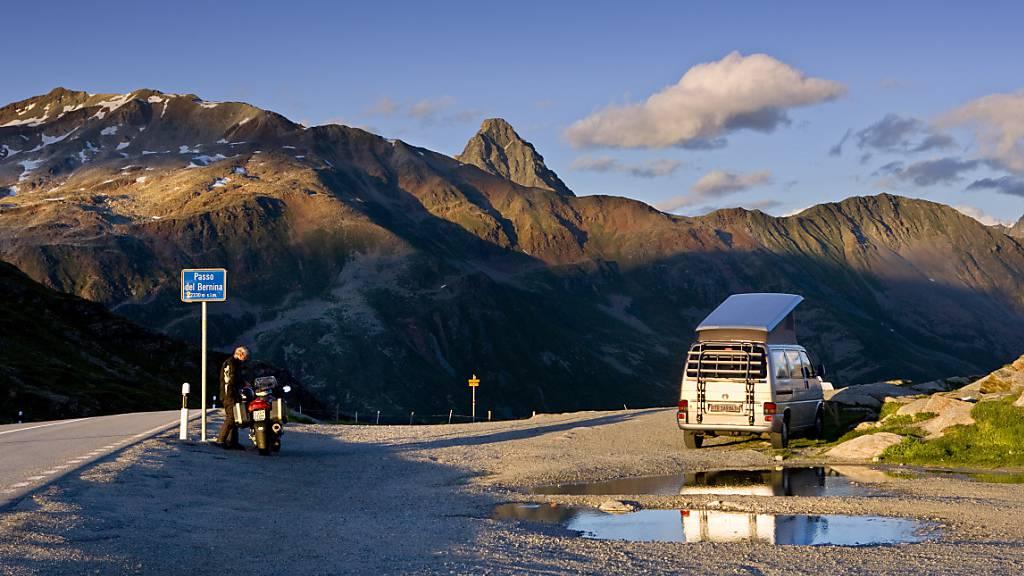 Berninapassstrasse wird erstmals seit den 1970er-Jahren ausgebaut