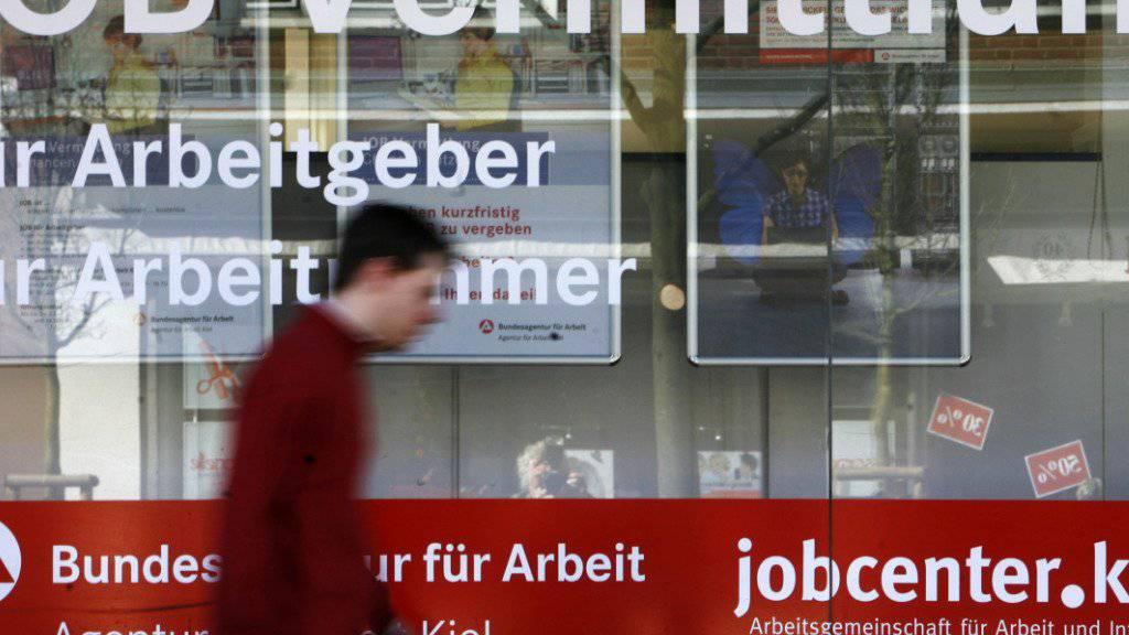 Weniger Arbeitslose: In der Eurozone ist die Arbeitslosenquote wieder so tief  wie letztmals 2009. (Archivbild)