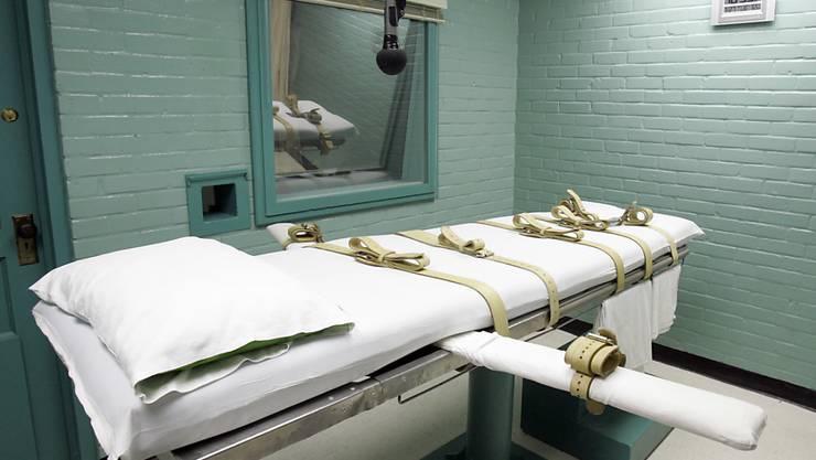 Die Justiz lehnte ein letztes Gnadengesuch der Verteidigung des Verurteilten ab. Der Mann wurde mit der Giftspritze hingerichtet. (Archivbild)