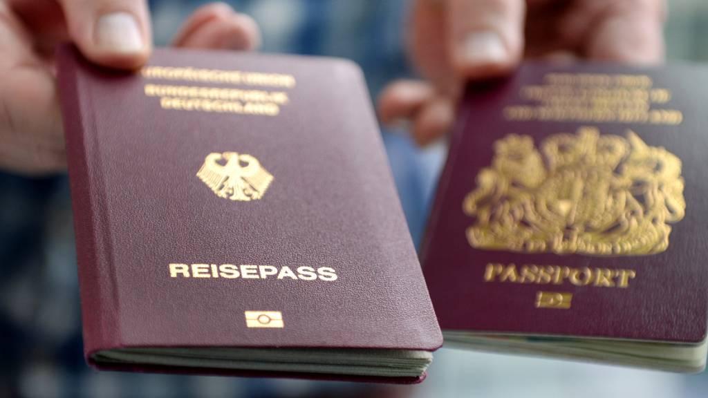 EU-Bürger brauchen für Einreise nach Grossbritannien künftig Reisepass